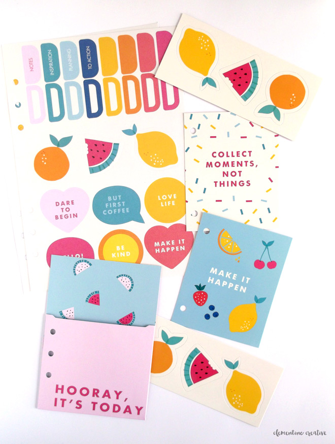 kikki.k cute dashboard kit