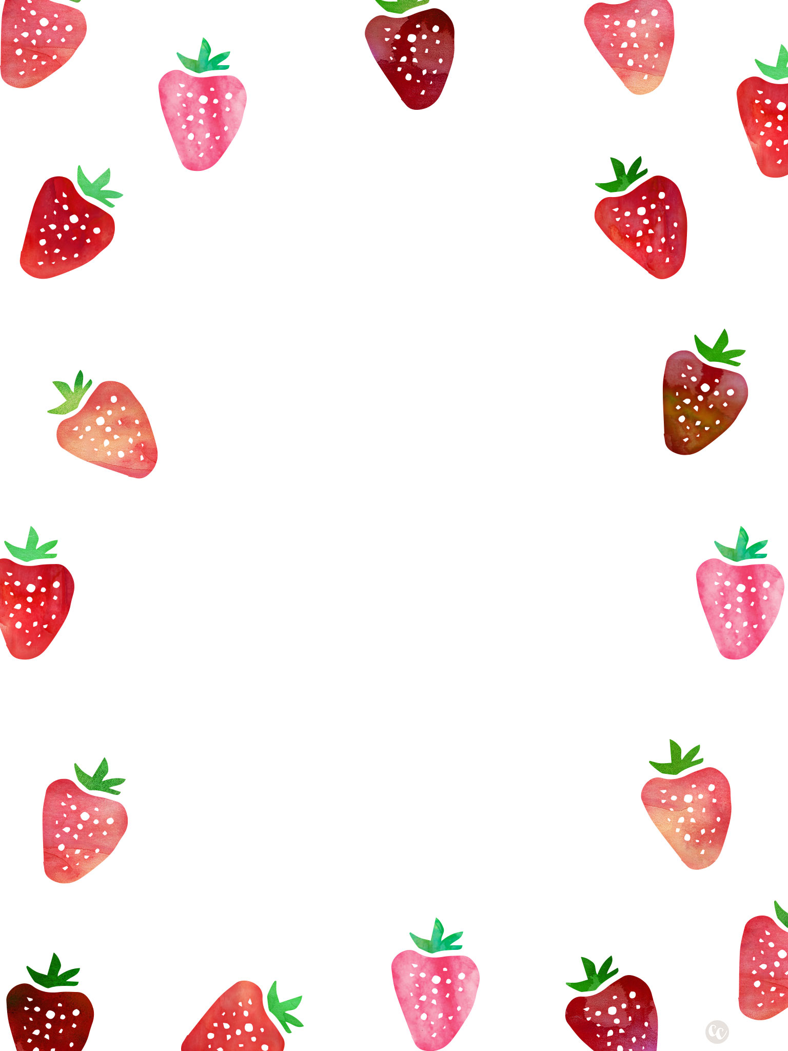 Strawberry milkshake wallpaper
