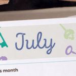 July 2016 Printable Monthly Planner