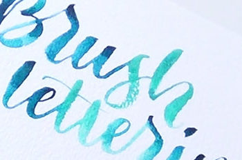 My Favourite Water Brush Lettering YouTube Tutorials for Beginners
