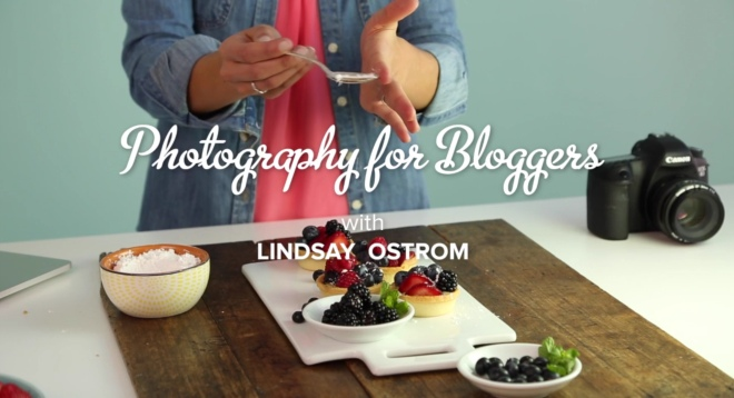 DSLR photography for bloggers online class