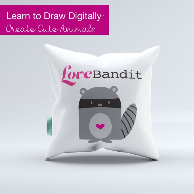 learn to draw digitally draw cute animals