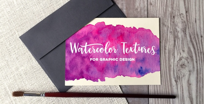 watercolor textures for graphic design