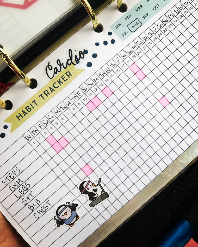 This Free Printable Habit Tracker will Help you Reach your ...