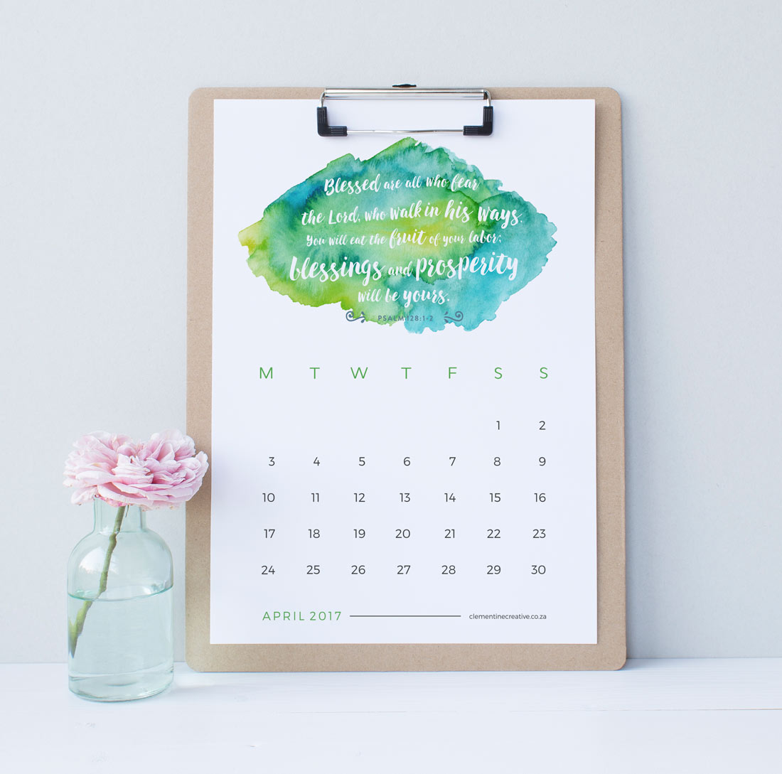 ... month. Download instantly, print out and proudly display your new