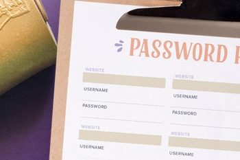 Keep Track of your Passwords with This Free Printable Password Keeper