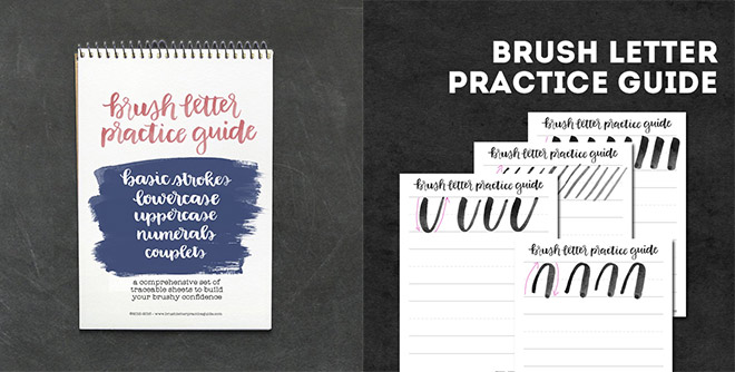 brush-lettering-practice-guide
