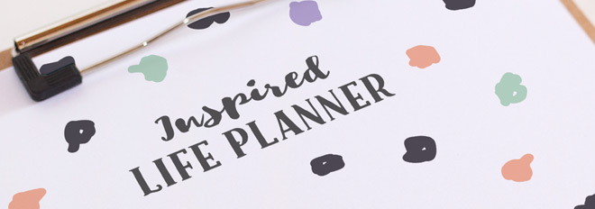 Coming Soon: The Inspired Life Planner!