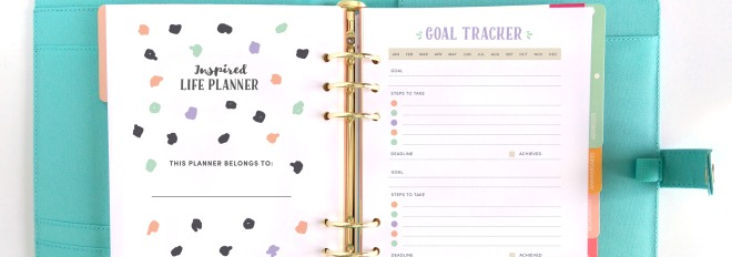 The Inspired Life Planner is here!