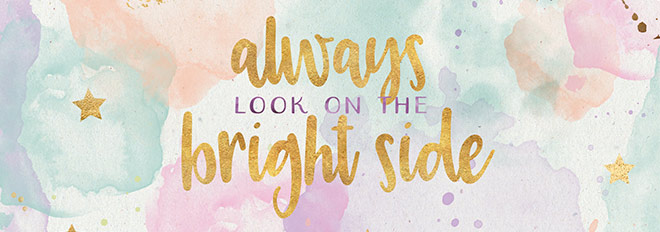 Free Wallpaper: Always Look on the Bright Side