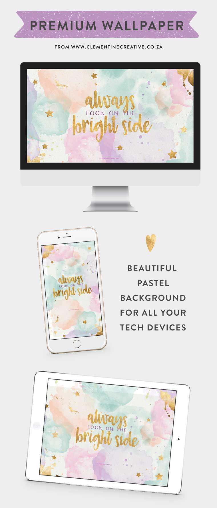 pastel clouds wallpaper