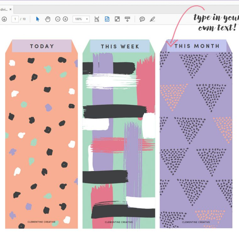 printable-planner-top-tab-dividers-customize-1