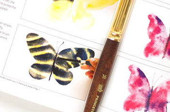 Watercolor Butterflies Made Easy