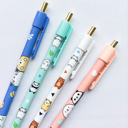 kawaii animal pencils