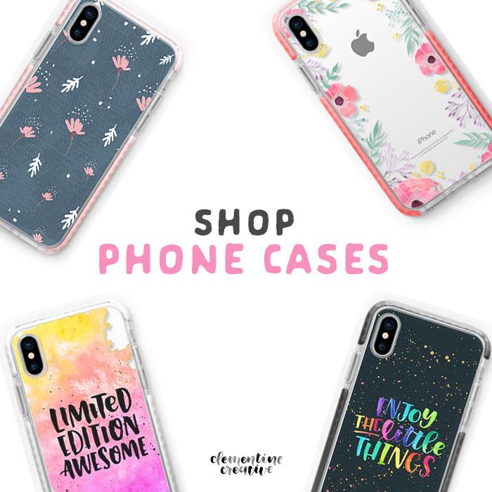shop cute phone cases