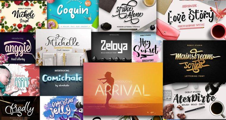 font bundles from pixelo