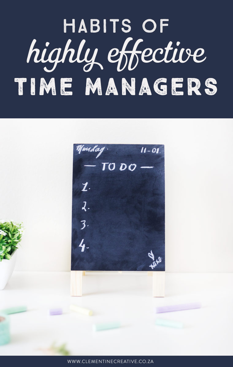 Have you ever sat and thought that there simply aren't enough hours in the day? However, by proactively taking steps to manage your time, you'll soon come to realise that it's not about working harder every day, it's about working smarter. Click here to read how to manage your time more effectively.