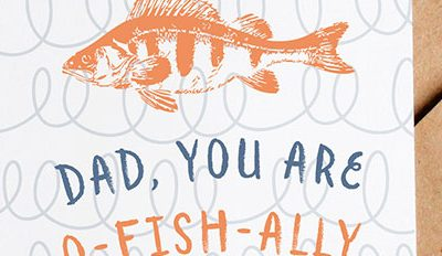 Free Printable Father's Day Card {O-Fish-Ally Awesome}