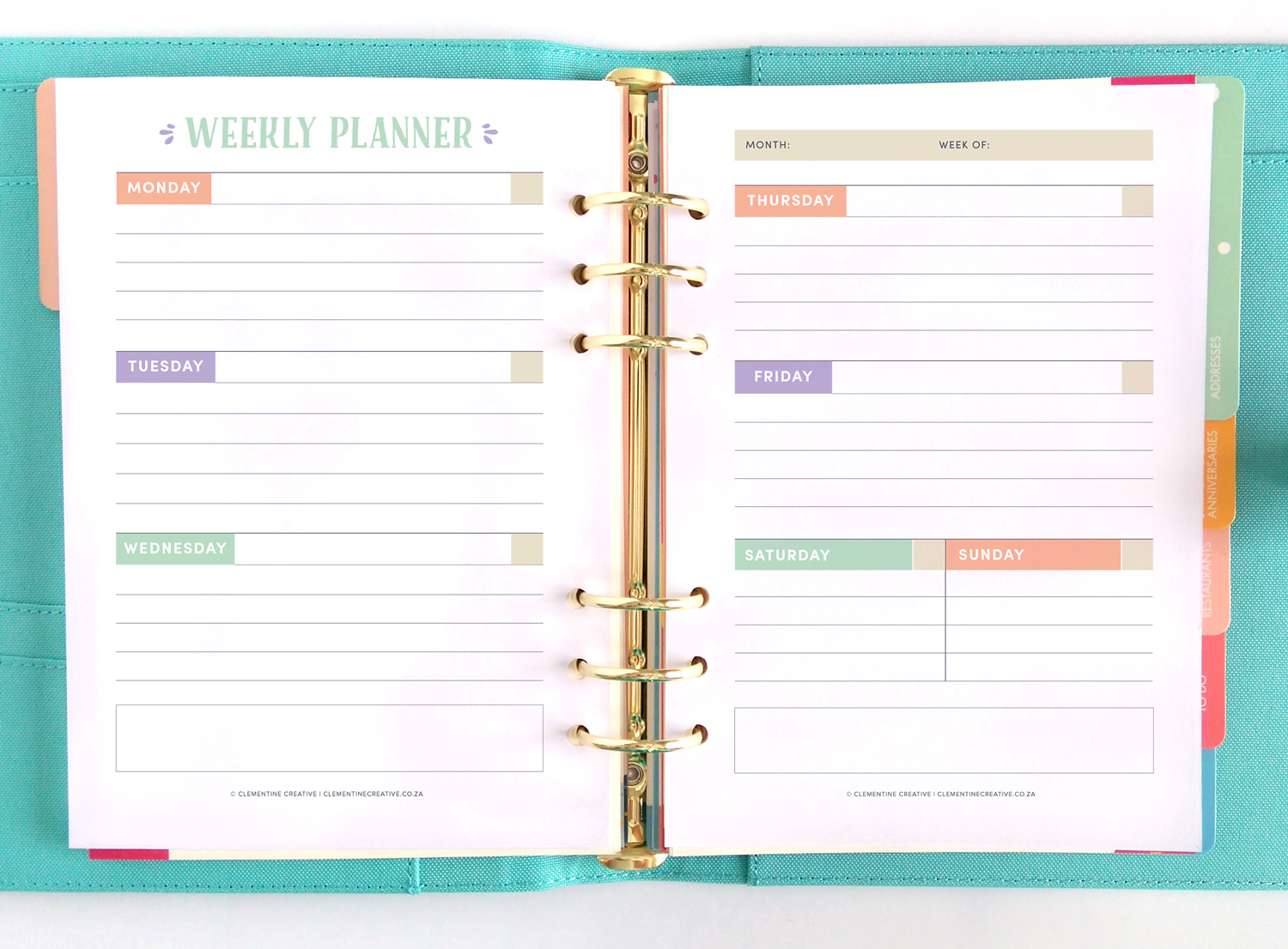 Free Printable Life Planner 25 Goal Setting And Planning Pages