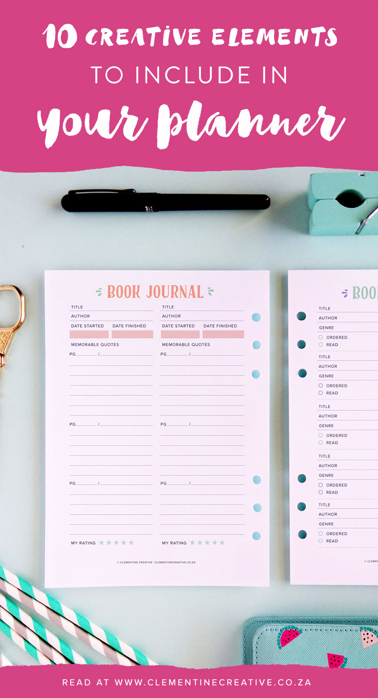 What should you include in your planner? Here are 10 creative ideas that you can use.