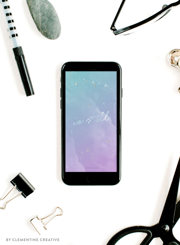 purple watercolor phone wallpaper