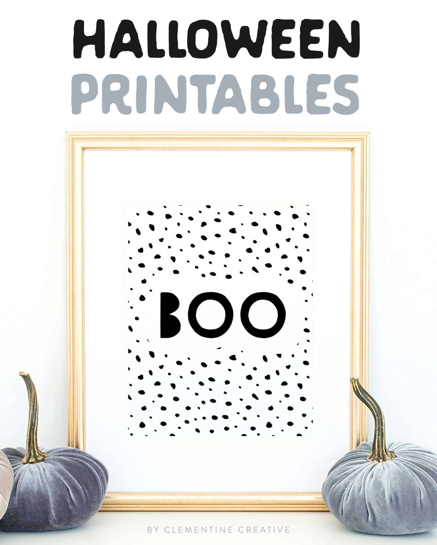 photo about Free Printable Decor identified as No cost Printable Halloween Wall Artwork -Ground breaking prints for your