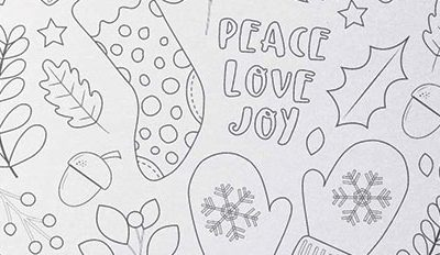 Free Printable Christmas Colouring Page – Fun and Relaxing!