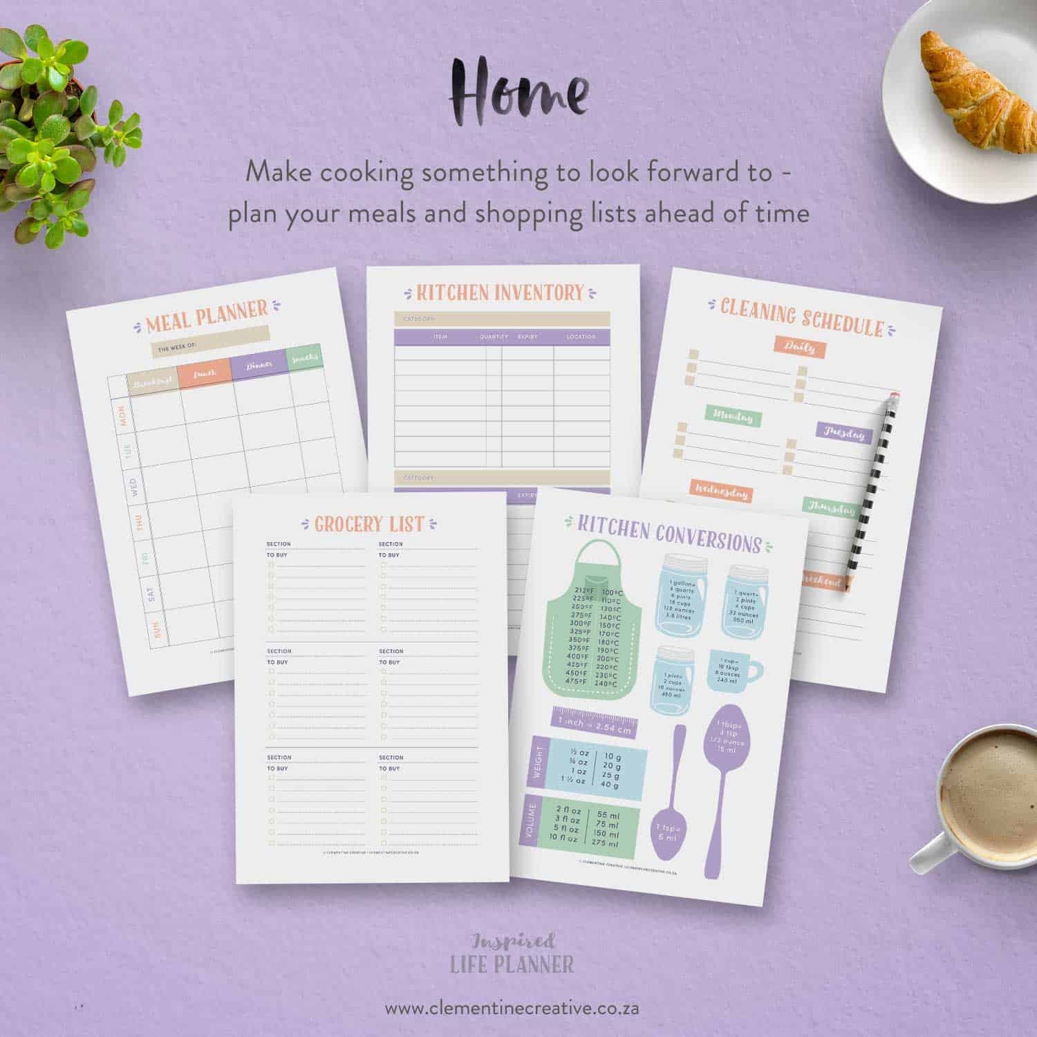 The Inspired Life Planner A Pretty Printable Planner For 2019