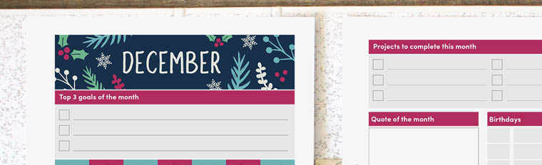 planners archives clementine creative printable planners