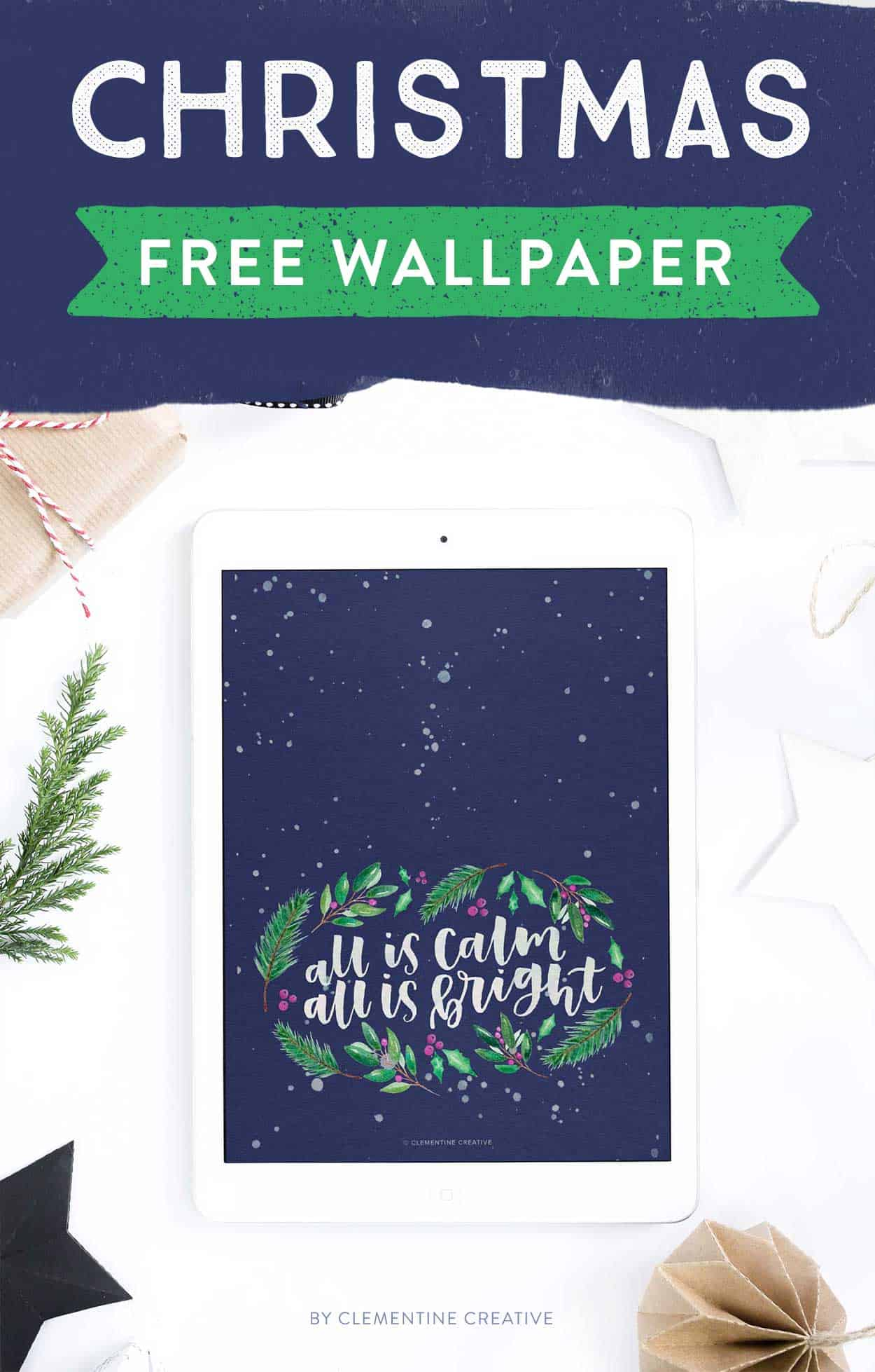free Christmas wallpaper for ipad
