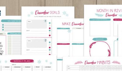 Printable planner subscription