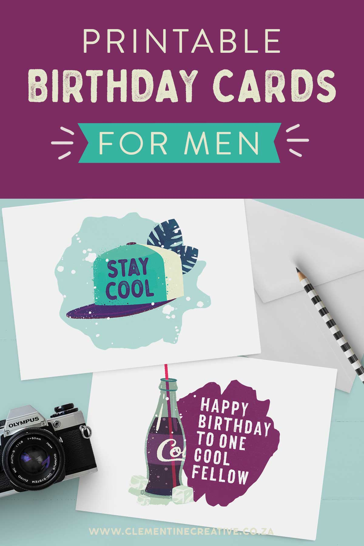 printable birthday cards for the men in your life