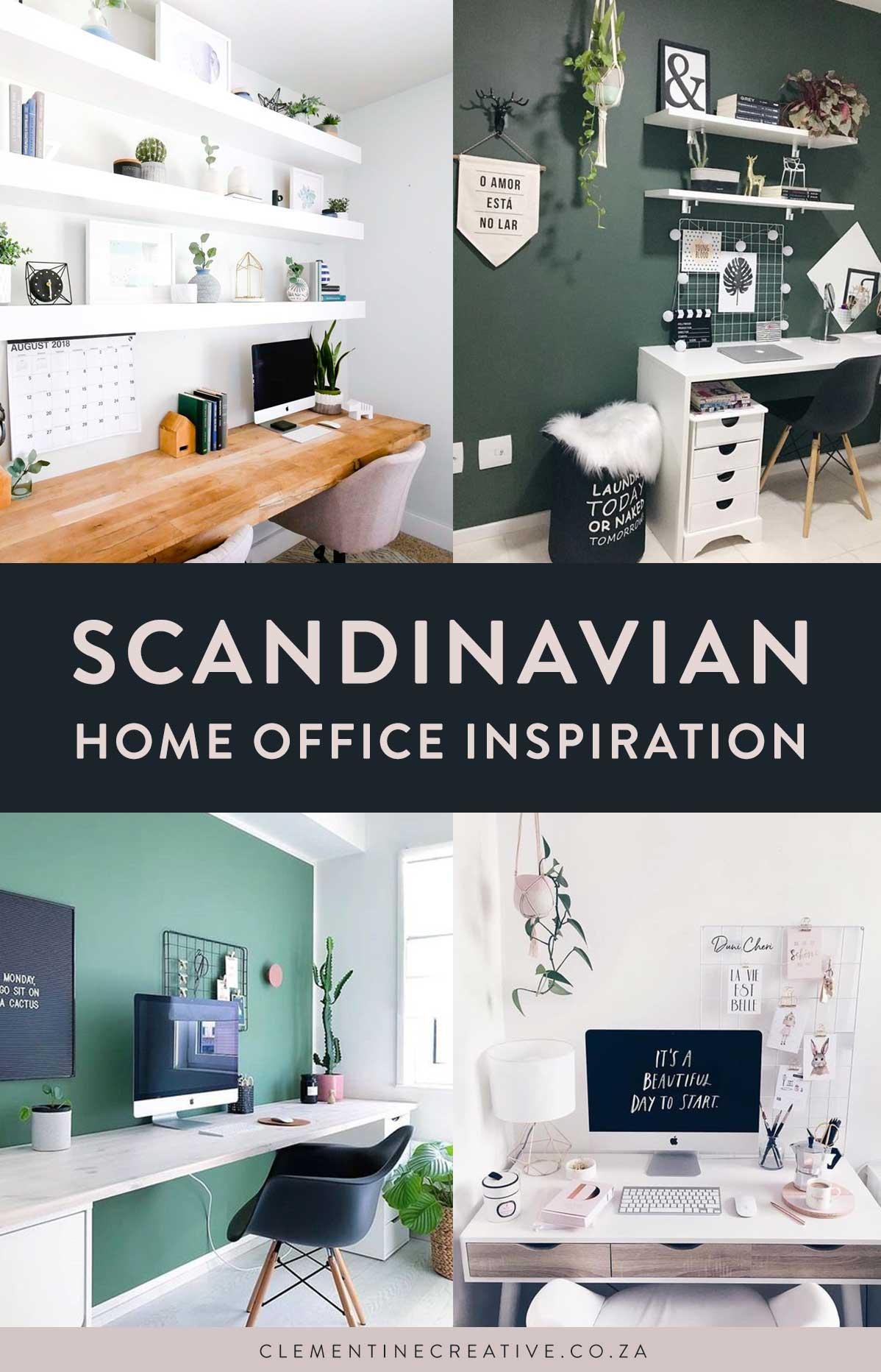 Scandinavian workspace inspiration