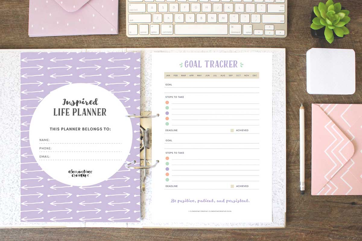 free printable life planner