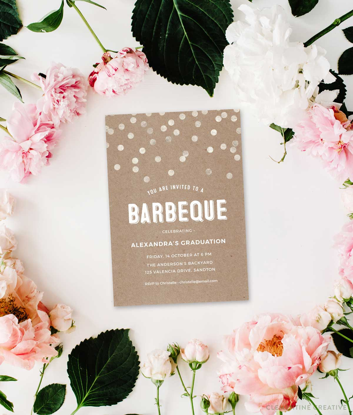 photo about Free Printable Bbq Invitations identify Toss a Classy Barbeque Social gathering With This Beautiful Invitation