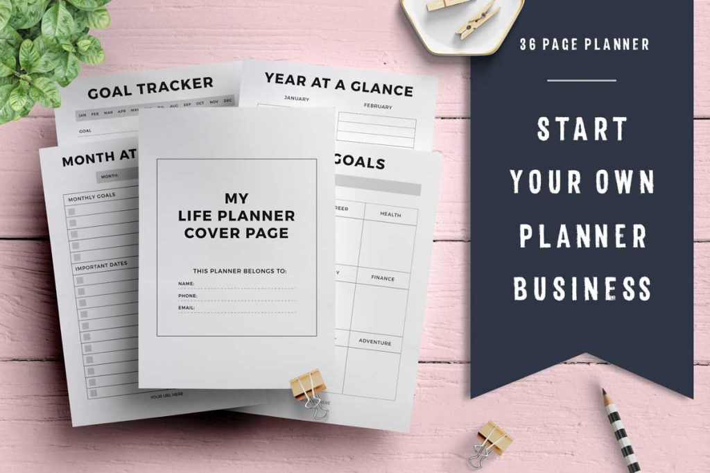 printable planner templates with editable fields