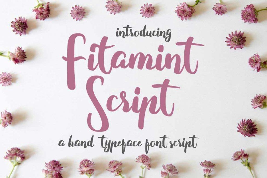 free sweet script font