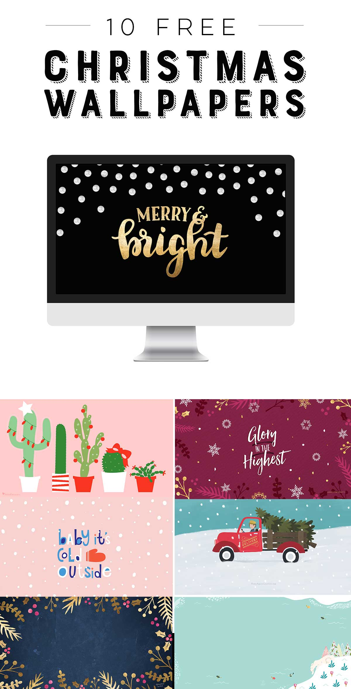 10 free Christmas wallpapers for your desktop and phone