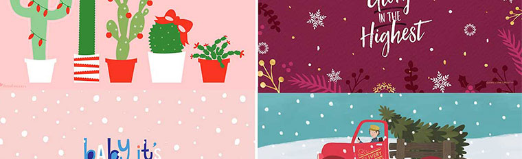 Christmas Wallpaper Archives Clementine Creative