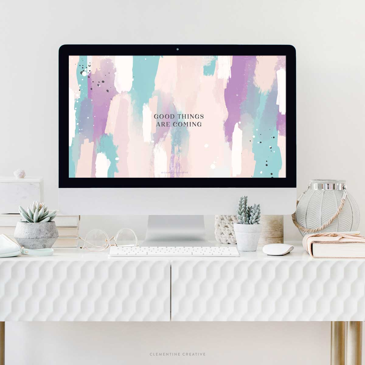 motivational wallpaper with abstract design