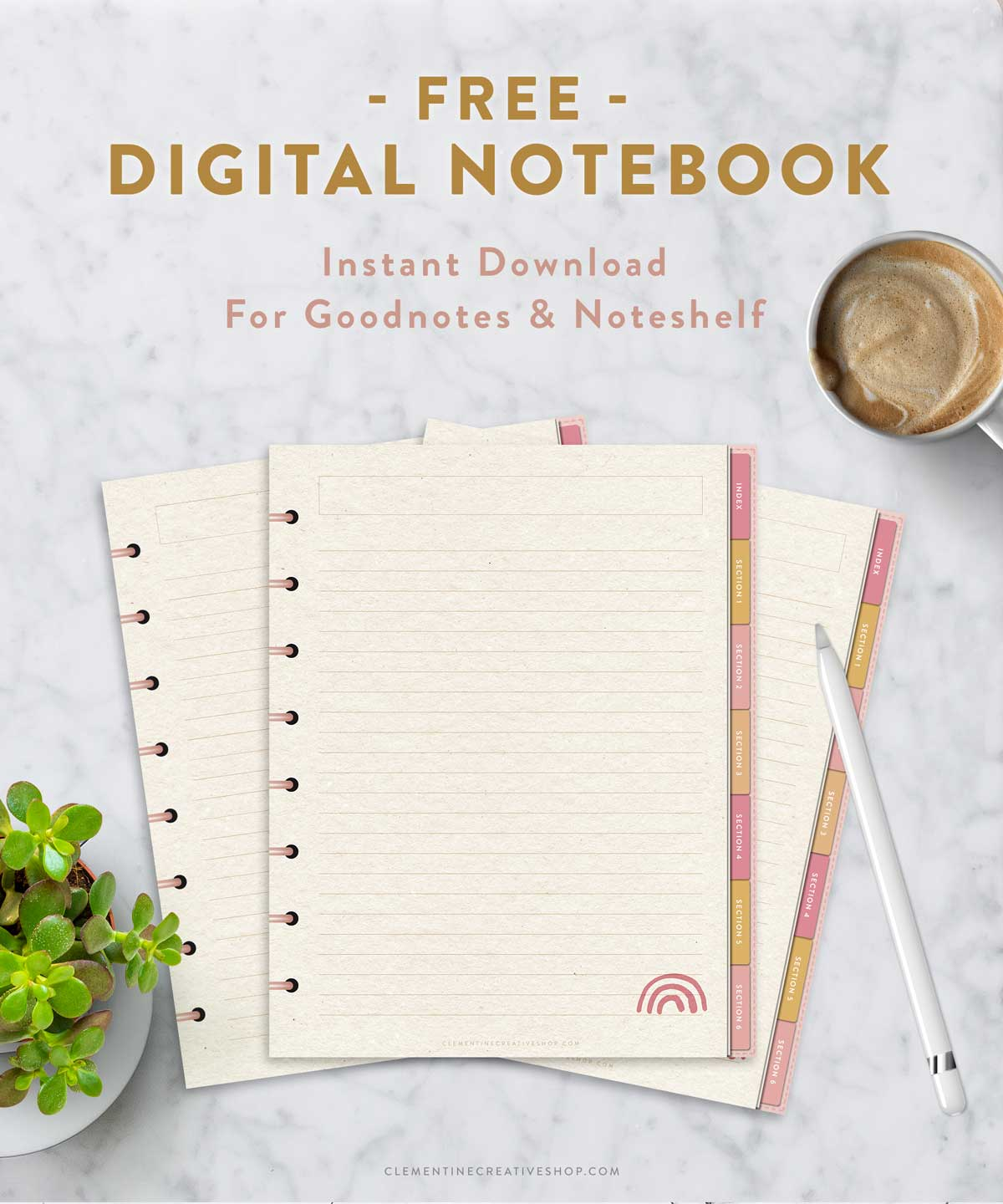 free digital notebook for iPad and tablets